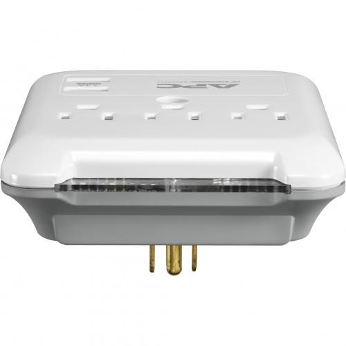 APC By Schneider Electric SurgeArrest Essential 3 Outlet Surge Suppressor/Protector Alternate-Image1/500