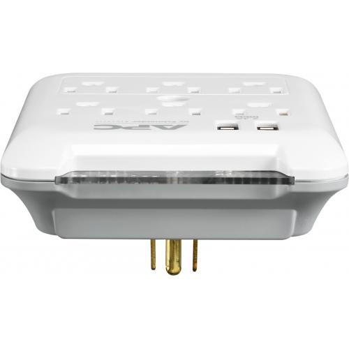 APC By Schneider Electric SurgeArrest Essential 6 Outlet Surge Suppressor/Protector Alternate-Image1/500