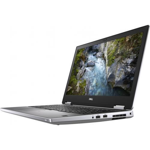 """Dell Precision 7000 7540 15.6"""" Mobile Workstation   1920 X 1080   Intel Core I7 (9th Gen) I7 9850H Hexa Core (6 Core) 2.60 GHz   8 GB RAM   512 GB SSD   Silver Alternate-Image1/500"""