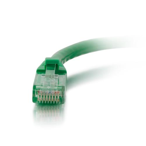 C2G 2ft Cat6a Snagless Unshielded (UTP) Network Patch Ethernet Cable Green Alternate-Image1/500