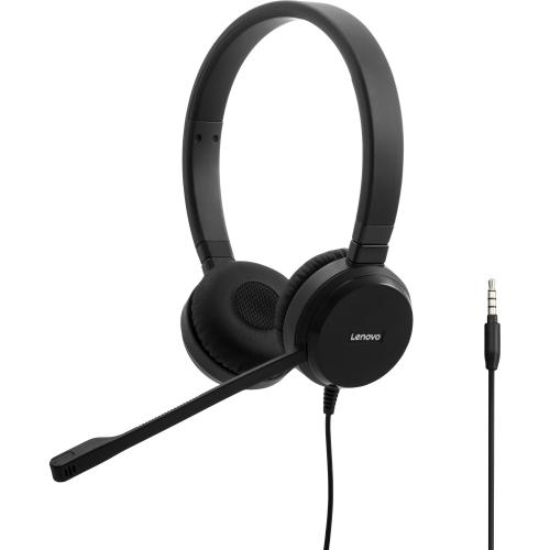 Lenovo Pro Wired Stereo VOIP Headset Alternate-Image1/500