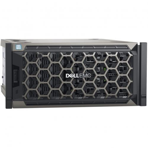 Dell EMC PowerEdge T440 5U Tower Server   2 X Intel Xeon Silver 4208 2.10 GHz   32 GB RAM   1 TB (1 X 1 TB) HDD   12Gb/s SAS, Serial ATA/600 Controller Alternate-Image1/500