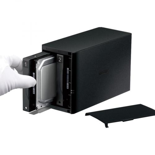 Buffalo LinkStation SoHo 2Bay Desktop 8TB Hard Drives Included Alternate-Image1/500