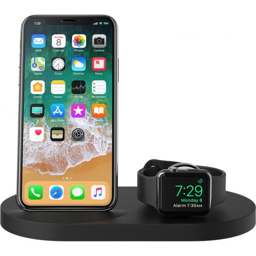 Belkin BOOST↑UP Wireless Charging Dock For IPhone + Apple Watch + USB A Port Alternate-Image1/500