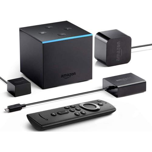 Amazon Fire TV Cube Network Audio/Video Player   Wireless LAN   Black Alternate-Image1/500