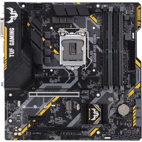 TUF B365M PLUS GAMING Desktop Motherboard   Intel Chipset   Socket H4 LGA 1151   Intel Optane Memory Ready   Micro ATX Alternate-Image1/500