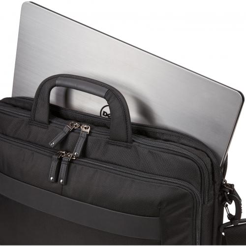 "Case Logic Notion Carrying Case For 15.6"" Notebook   Black Alternate-Image1/500"