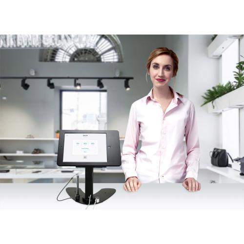 CTA Digital Desk Mount For IPad, IPad Air, IPad Pro, Card Reader Alternate-Image1/500