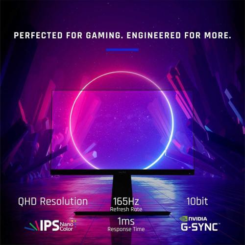 """Viewsonic Elite XG270QG 27"""" WQHD LED Gaming LCD Monitor   16:9 Alternate-Image1/500"""