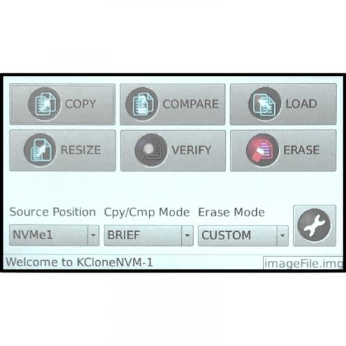 Kanguru KanguruClone 4 M.2 NVMe SSD Duplicator Alternate-Image1/500