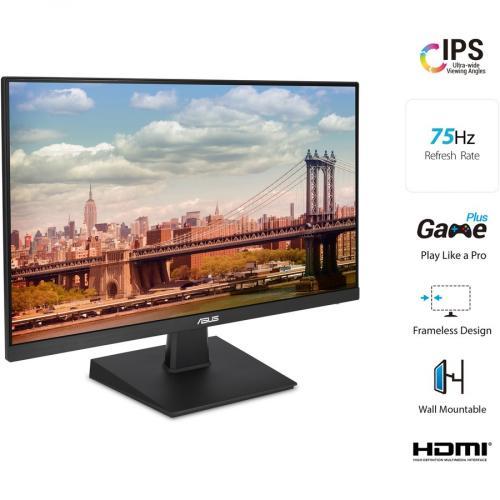 """Asus VA27EHE 27"""" Full HD WLED Gaming LCD Monitor   16:9   Black Alternate-Image1/500"""