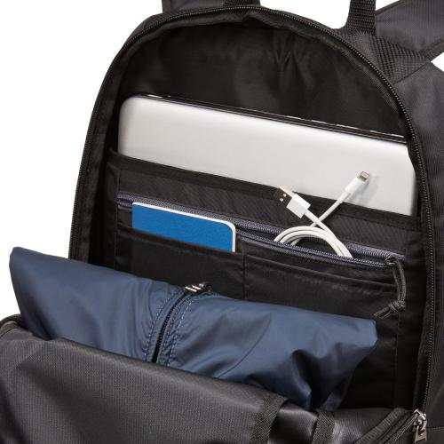 "Case Logic Carrying Case (Backpack) For 15.6"" Notebook   Black Alternate-Image1/500"
