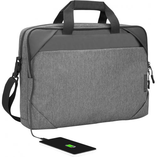 """Lenovo Carrying Case For 15.6"""" Notebook   Charcoal Gray Alternate-Image1/500"""