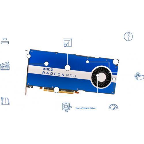 AMD Radeon Pro W5500 Graphic Card   8 GB GDDR6 Alternate-Image1/500