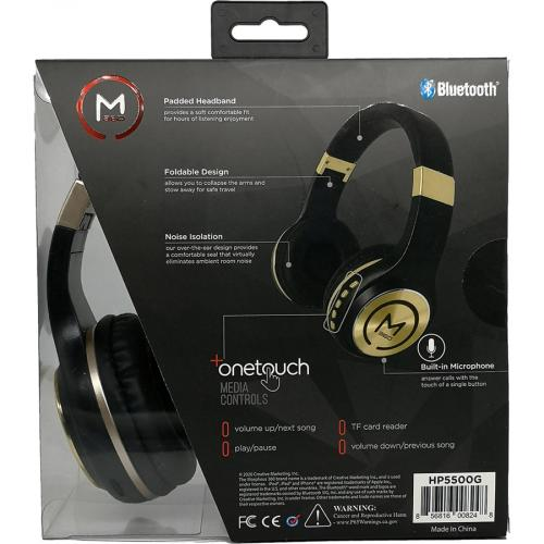 Morpheus 360 Serenity Wireless Over The Ear Headphones   Bluetooth 5.0 Headset With Microphone   HP5500G Alternate-Image1/500