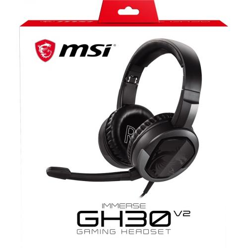 MSI Immerse GH30 Gaming Headset Alternate-Image1/500