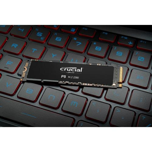 Crucial P5 CT500P5SSD8 500 GB Solid State Drive   M.2 2280 Internal   PCI Express NVMe (PCI Express NVMe 3.0) Alternate-Image1/500