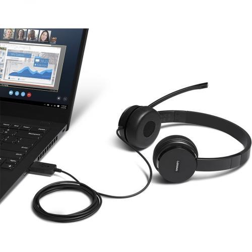Lenovo 100 Headset Alternate-Image1/500