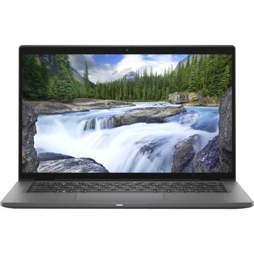 """Dell Latitude 7000 7410 14"""" Touchscreen 2 In 1 Notebook   Full HD   1920 X 1080   Intel Core I7 (10th Gen) I7 10610U Quad Core (4 Core) 1.80 GHz   16 GB RAM   256 GB SSD   Aluminum Titan Gray Alternate-Image1/500"""