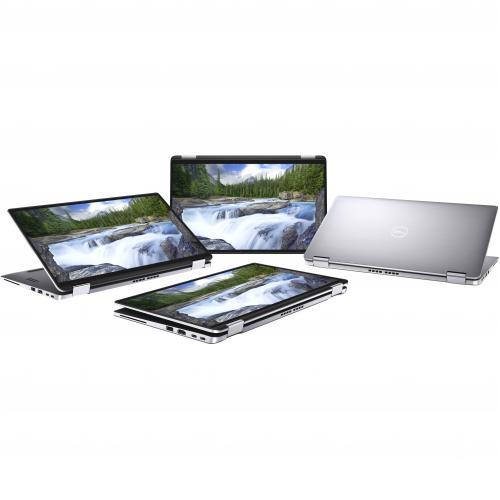 """Dell Latitude 9000 9410 14"""" Touchscreen 2 In 1 Notebook   1920 X 1280   Intel Core I5 (10th Gen) I5 10210U Quad Core (4 Core) 1.60 GHz   8 GB RAM   256 GB SSD   Anodized Titan Gray Alternate-Image1/500"""