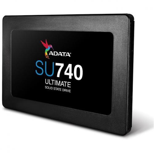 "Adata Ultimate SU740 ASU740SS 500G R 500 GB Solid State Drive   2.5"" Internal   SATA (SATA/600) Alternate-Image1/500"