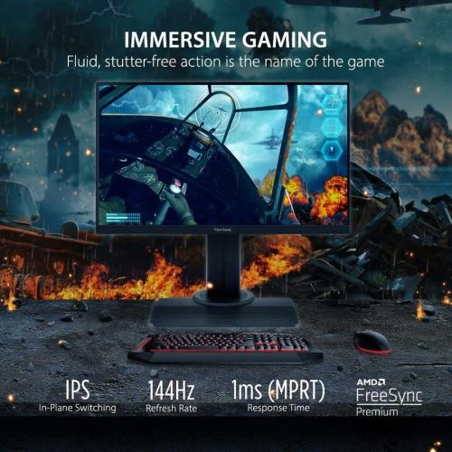 "Viewsonic XG2405 23.8"" Full HD LED Gaming LCD Monitor   16:9 Alternate-Image1/500"