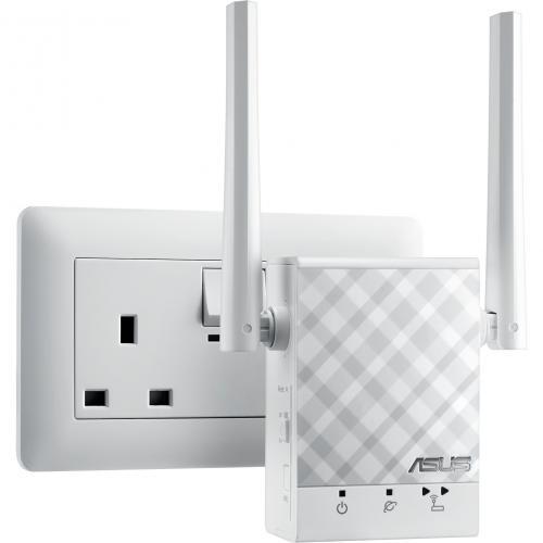 Asus RP AC51 IEEE 802.11ac 750 Mbit/s Wireless Range Extender Alternate-Image1/500