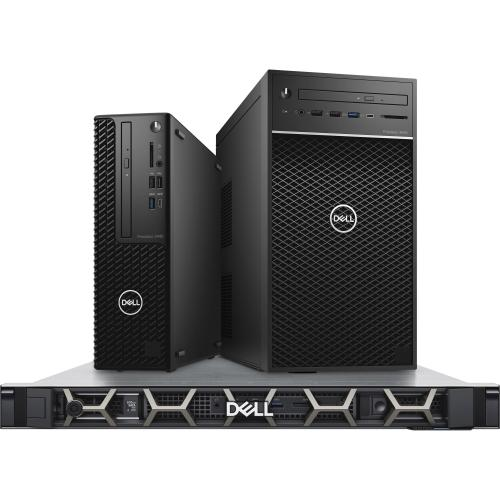 Dell Precision 3000 3440 Workstation   Intel Core I5 Hexa Core (6 Core) I5 10500 10th Gen 3.10 GHz   16 GB DDR4 SDRAM RAM   1 TB HDD   Small Form Factor Alternate-Image1/500