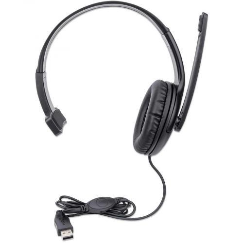 Manhattan Mono USB Headset Alternate-Image1/500