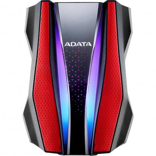 Adata HD770G AHD770G 2TU32G1 CRD 2 TB Hard Drive   External   Red Alternate-Image1/500