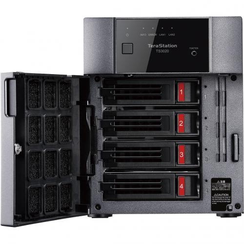 Buffalo TeraStation 3420DN Desktop 8 TB NAS Hard Drives Included Alternate-Image1/500