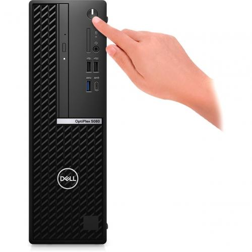 Dell OptiPlex 5000 5080 Desktop Computer   Intel Core I5 10th Gen I5 10500 Hexa Core (6 Core) 3.10 GHz   8 GB RAM DDR4 SDRAM   256 GB SSD   Small Form Factor   Black Alternate-Image1/500