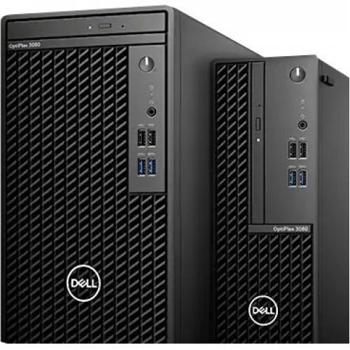 Dell OptiPlex 3000 3080 Desktop Computer   Intel Core I5 10th Gen I5 10500 Hexa Core (6 Core) 3.10 GHz   8 GB RAM DDR4 SDRAM   1 TB HDD   Tower Alternate-Image1/500
