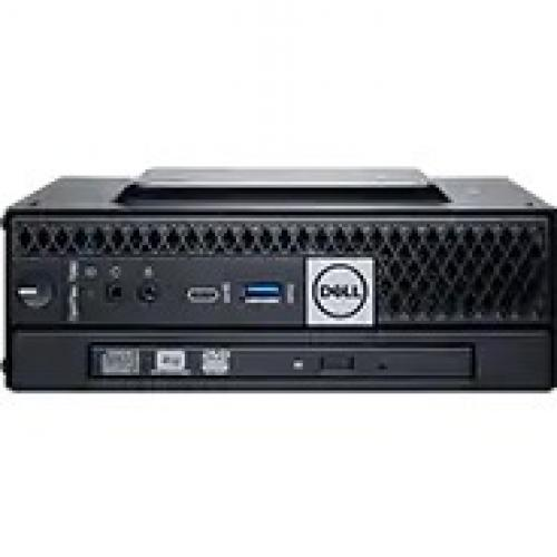 Dell OptiPlex 3000 3080 Desktop Computer   Intel Core I3 10th Gen I3 10100T Quad Core (4 Core) 3 GHz   4 GB RAM DDR4 SDRAM   500 GB HDD   Micro PC Alternate-Image1/500