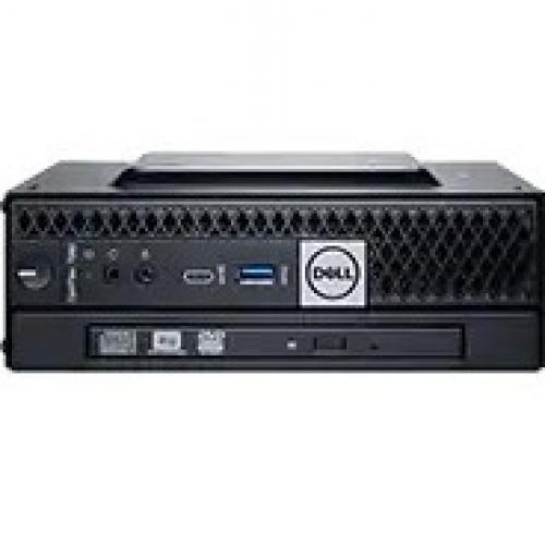 Dell OptiPlex 3000 3080 Desktop Computer   Intel Core I3 10th Gen I3 10100T Quad Core (4 Core) 3 GHz   4 GB RAM DDR4 SDRAM   128 GB SSD   Micro PC Alternate-Image1/500