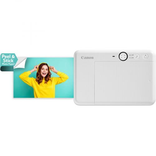 Canon IVY CLIQ 5 Megapixel Instant Digital Camera   Turquoise Alternate-Image1/500