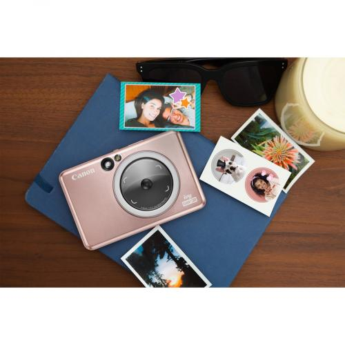 Canon IVY CLIQ+2 8 Megapixel Instant Digital Camera   Rose Gold Alternate-Image1/500