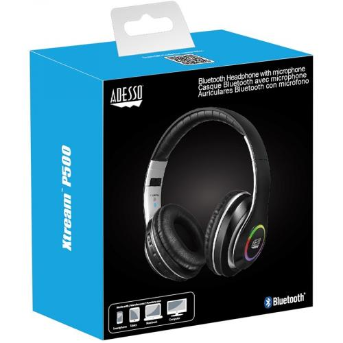 Xtream P500   Bluetooth Stereo Headphone With Built In Microphone Alternate-Image1/500