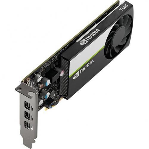 PNY NVIDIA T400 Graphic Card   2 GB GDDR6   Low Profile Alternate-Image1/500