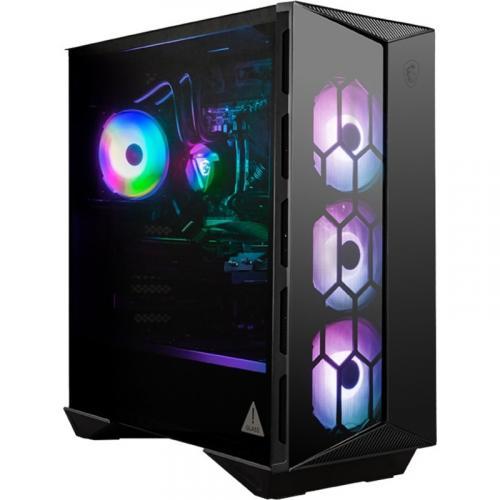 "MSI Aegis RS 10TD 213US Gaming Desktop Computer   Intel Core I7 10th Gen I7 10700K Octa Core (8 Core) 3.80 GHz   16 GB RAM DDR4 SDRAM   2 TB HDD   1 TB 2.5"" Serial ATA SSD Alternate-Image1/500"