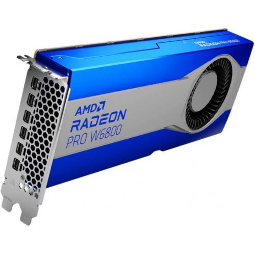 AMD Radeon Pro W6800 Graphic Card   32 GB GDDR6   Full Height Alternate-Image1/500