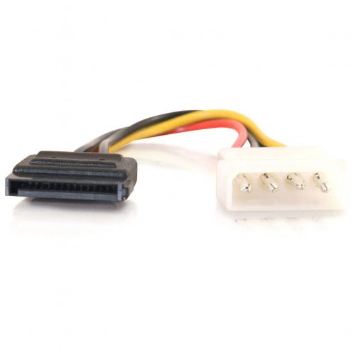C2G 6in Serial ATA Power Adapter Cable Alternate-Image1/500