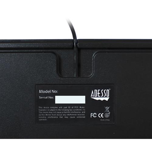 Adesso Full Size Mechanical Gaming Keyboard Alternate-Image2/500