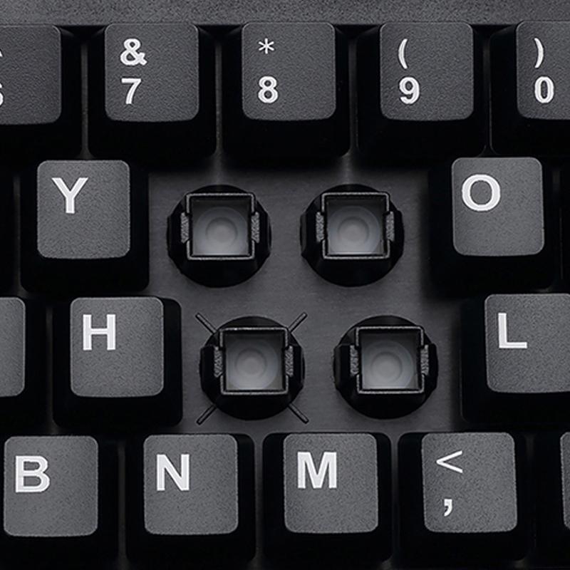 Adesso AKB 132HB  Multimedia Desktop Keyboard With 3 Port USB Hub Alternate-Image2