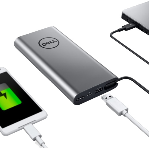 Dell Notebook Power Bank Plus   USB C, 65W Alternate-Image2/500