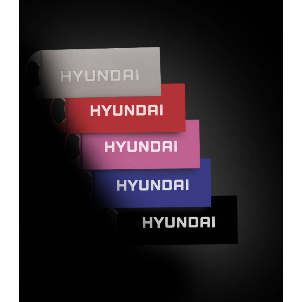 6a358b7a5b5671 antonline.com - Hyundai Bravo Keychain USB 2.0 Flash Drive 16GB Blue