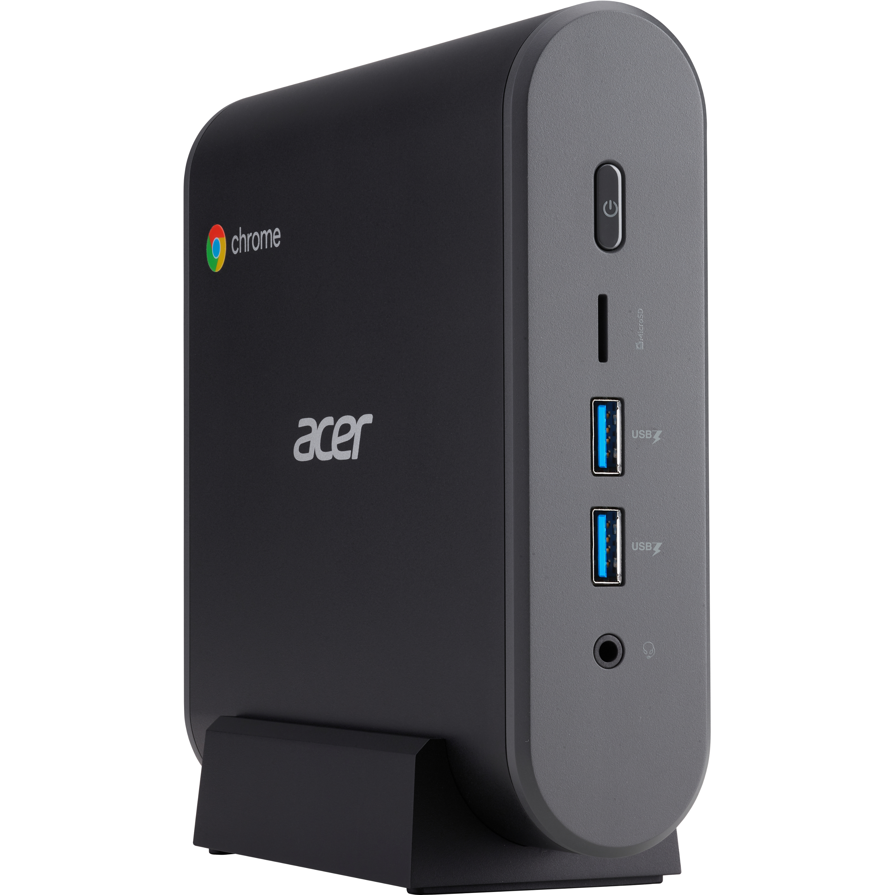 Acer CXI3 Chromebox   Intel Celeron 3867U Dual Core (2 Core) 1.80 GHz   4 GB RAM DDR4 SDRAM   32 GB SSD Alternate-Image2
