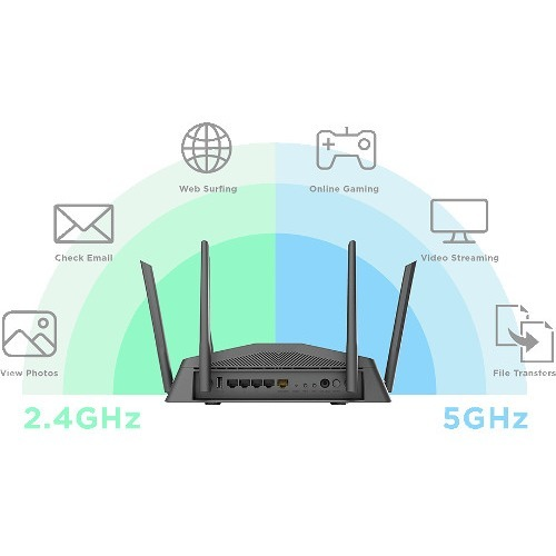 D Link DIR 1750 IEEE 802.11ac Ethernet Wireless Router Alternate-Image2/500