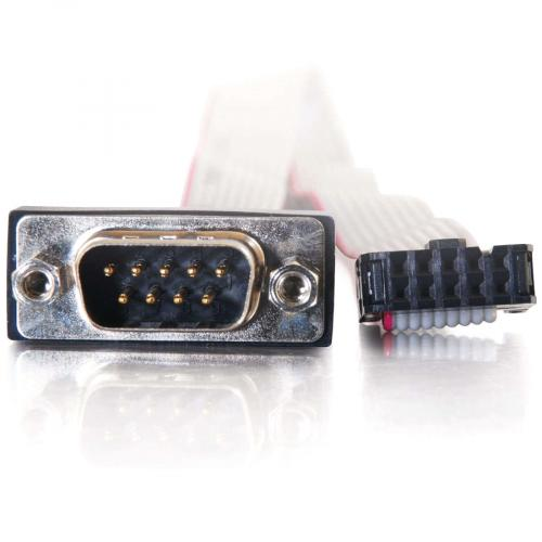 C2G 11in DB9 Male Serial Add A Port Adapter Cable Alternate-Image2/500