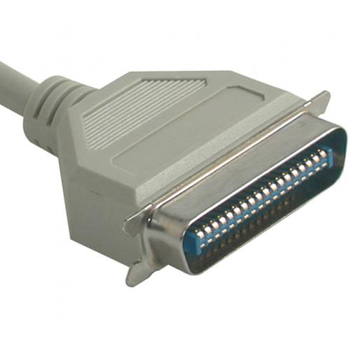 C2G 10ft IEEE 1284 DB25 Male To Centronics 36 Male Parallel Printer Cable Alternate-Image2/500
